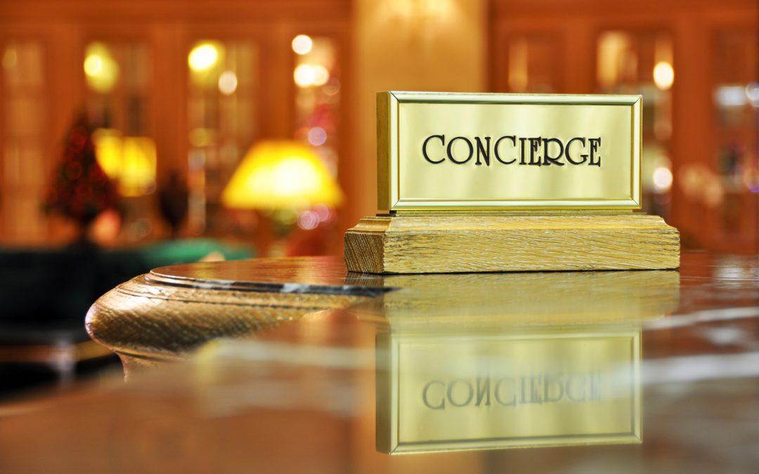 When is a concierge not a concierge?