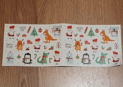 December 1st Box stickers