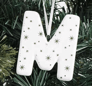 December 1st box xmas decoration