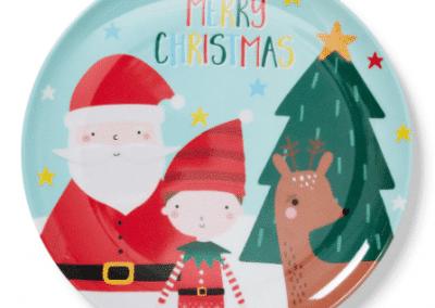 December 1st box xmas plate