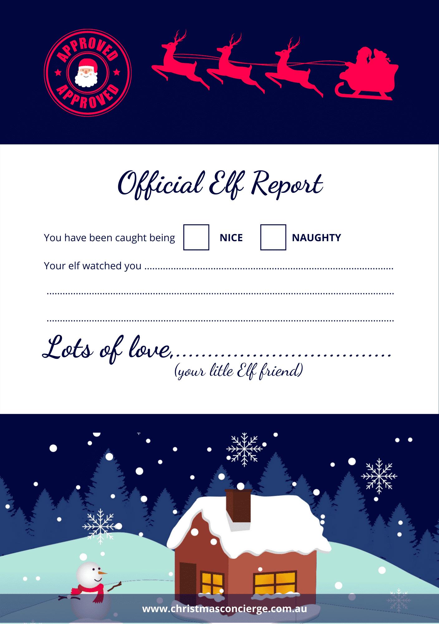 Free download Elf Report