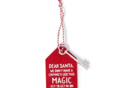 Magic key for santa