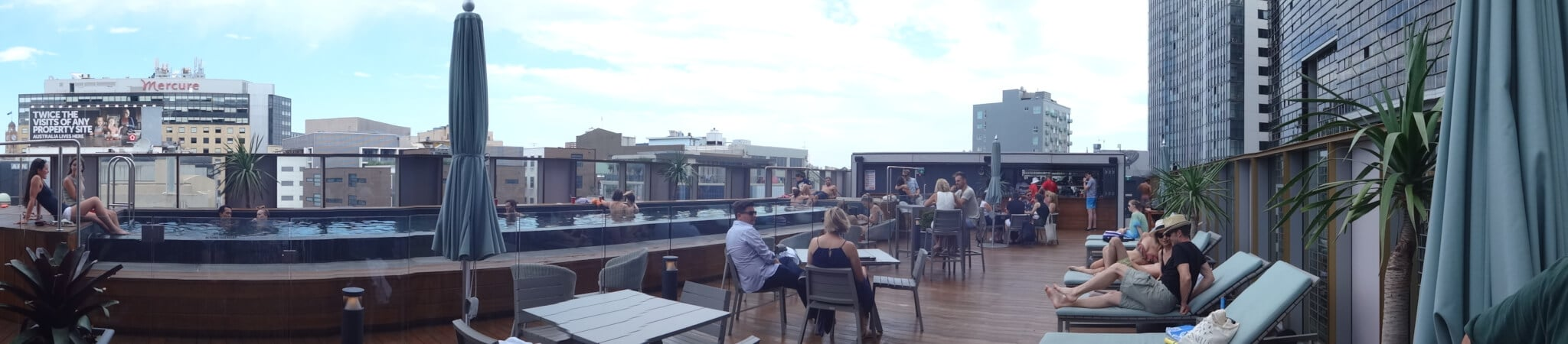 Old Clare Hotel Rooftop Pool Bar