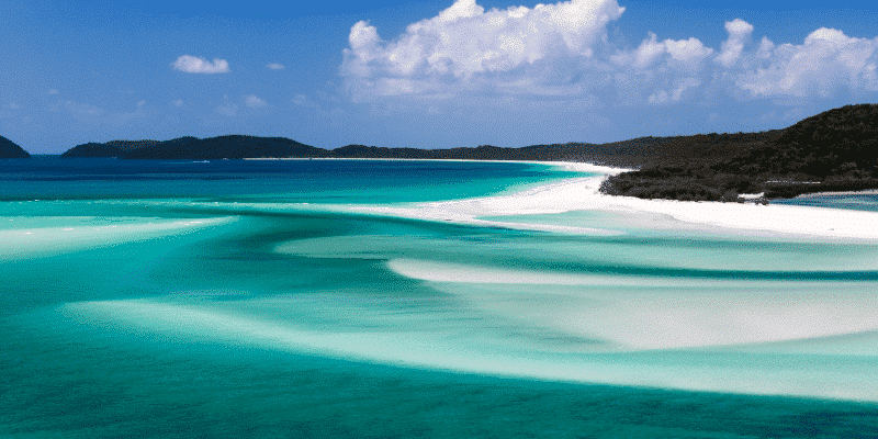 Australian domestic travel Whitsundays