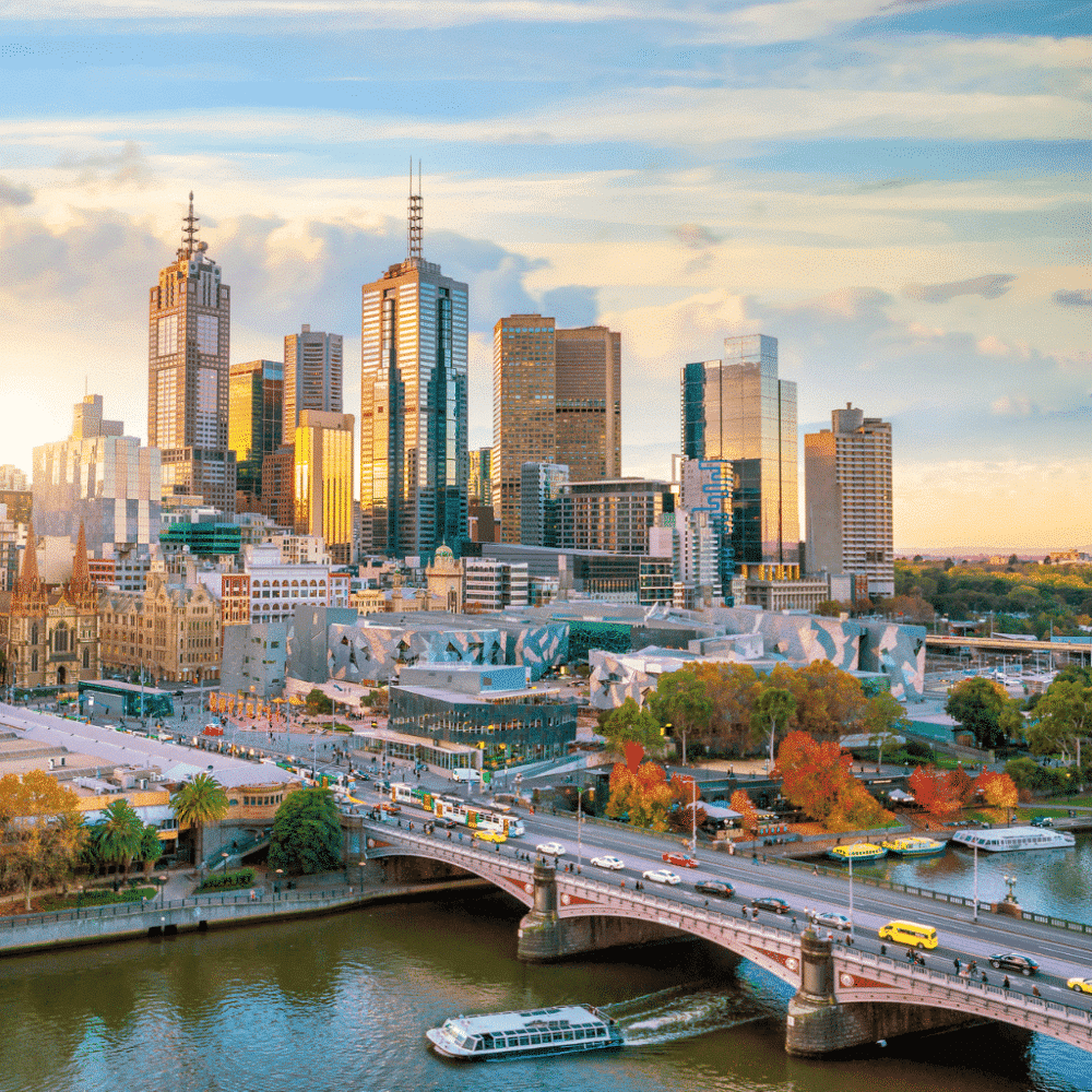 Organise trip to Melbourne