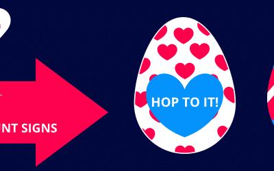 FREE DOWNLOAD: Easter Egg Hunt Signs